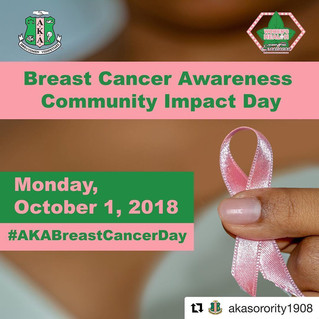 Breast Cancer Awareness Month: Community Impact Day