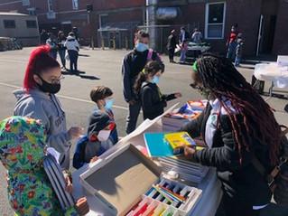 RGO Donates School Supplies for ESL Students