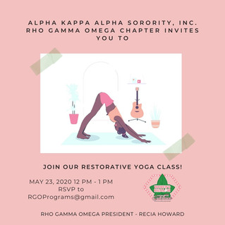 Join Our Restorative Yoga Class!
