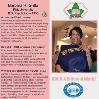 It's A Different World HBCU Spotlight-Barbara Griffa