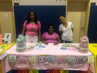 RGO Volunteers at the City of East Orange's Community Baby Shower