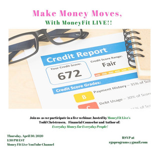 Make Money Moves with MoneyFit LIVE!