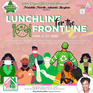 """RGO Participates in NAR Initiative """"Lunchline for the Frontline"""""""