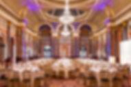 Gibson Hall - Main Hall dinner set up 2