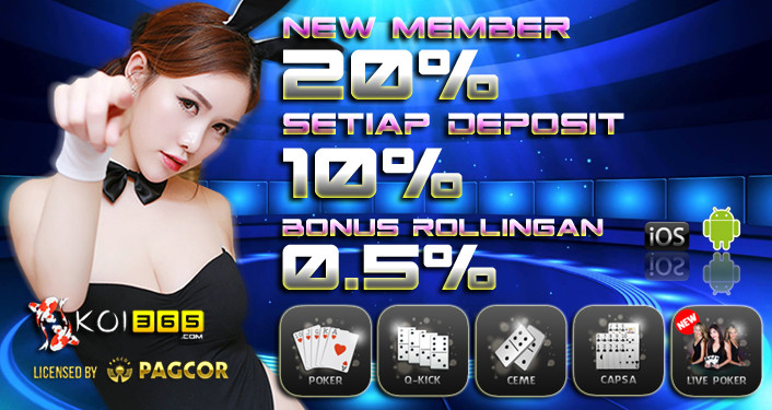 Promo bonus new member freebet freechip bonus harian bonus rollingan