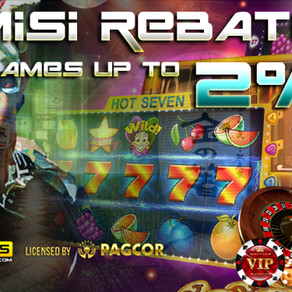 Bonus Komisi Rollingan 2% All Games KOI365