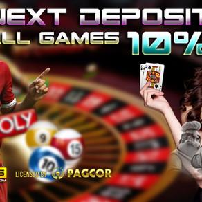 Next Deposit All Games 10% KOI365