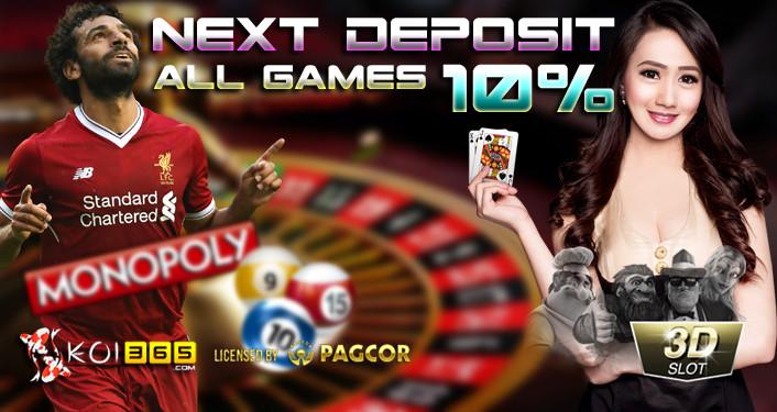Promo Bonus Sportsbook Live Casino Slot