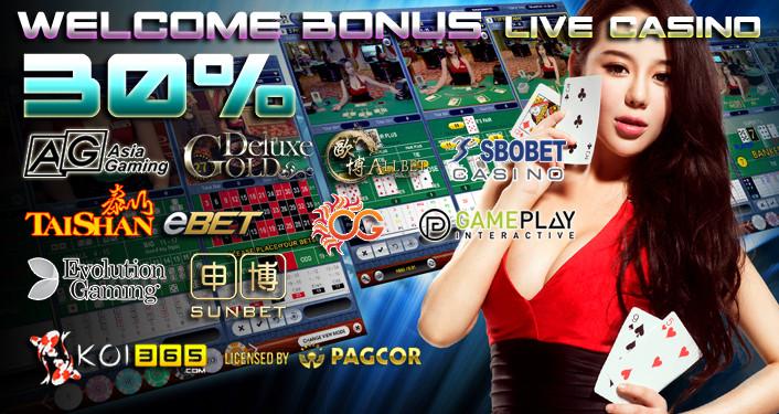 Live casino, Promo bonus, freebet