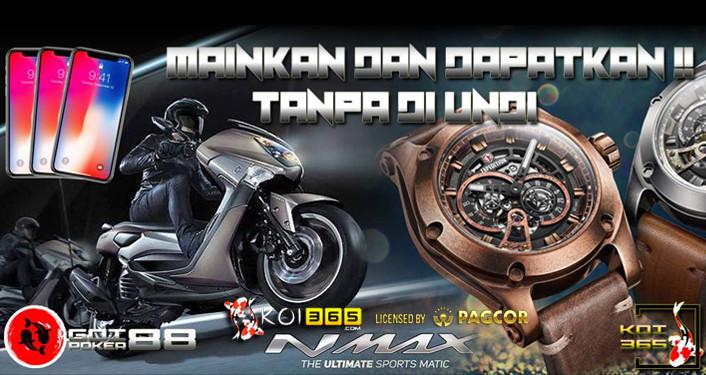 Yamaha NMax  Vivo v9 jam tangan expedition promo bonus freebet freechip