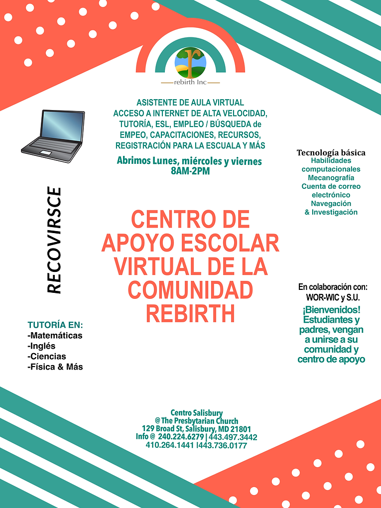 Rebirth Community Flyer- Spanish.png
