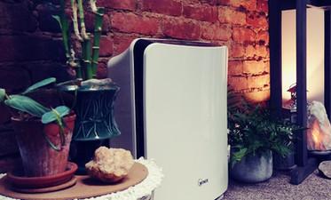 Air purifiers hard at work!