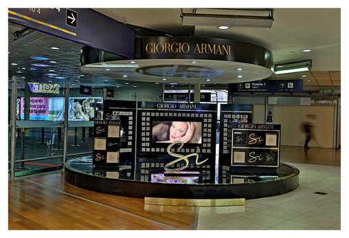Armani Si activation