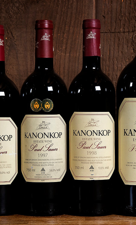 Kanonkop Paul Sauer Rare Vintages Pack