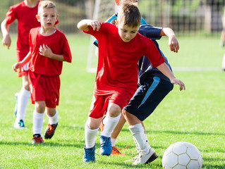 4 v 4 small sided soccer in numbers