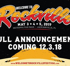 WELCOME TO ROCKVILLE 2019: Line-Up Announcement
