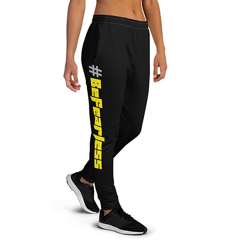 #BeFearless Black Women's Joggers