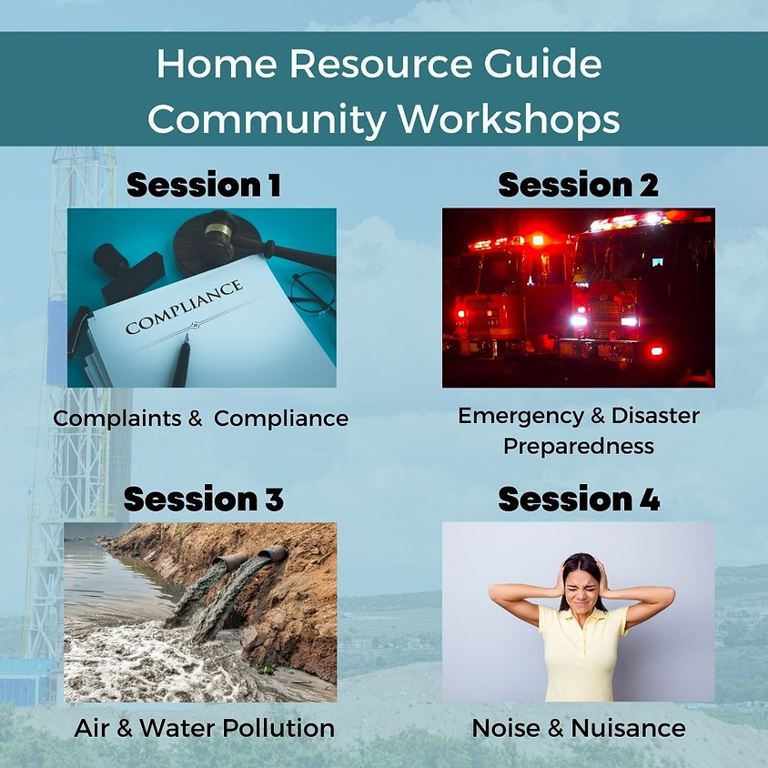 Home Resource Guide Community Workshop Series April Noon Sessions