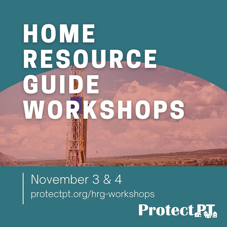 Home Resource Guide Workshops Part 1