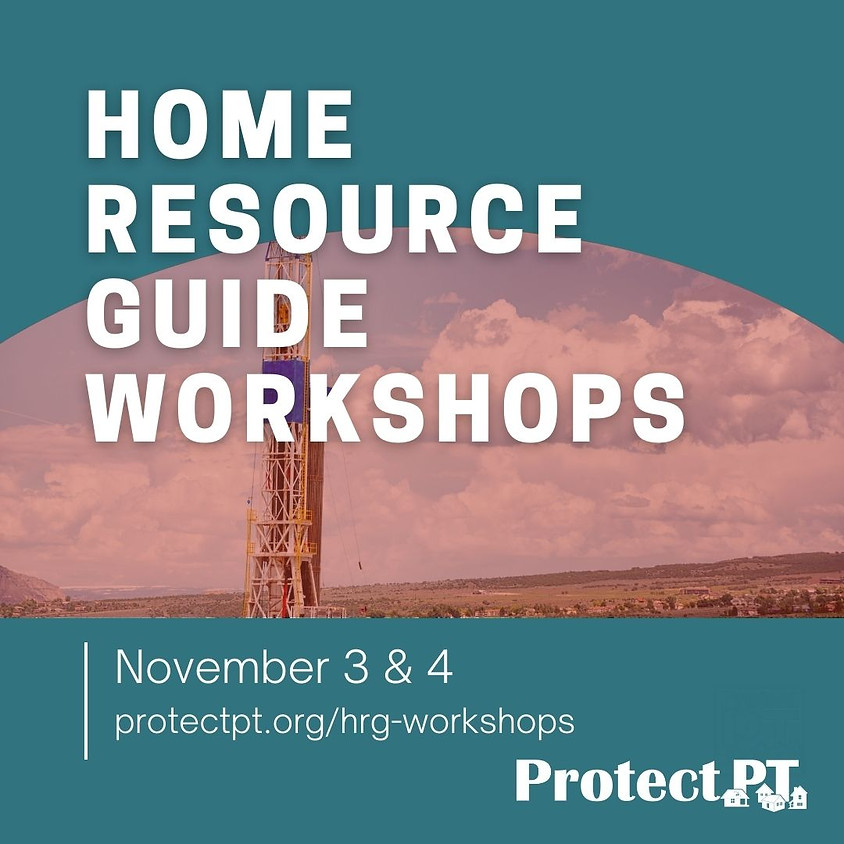Home Resource Guide Workshops Part 2