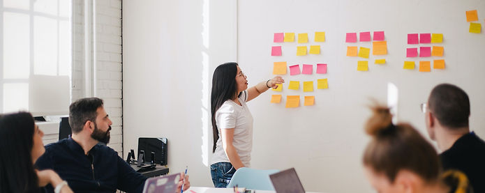 woman teaching