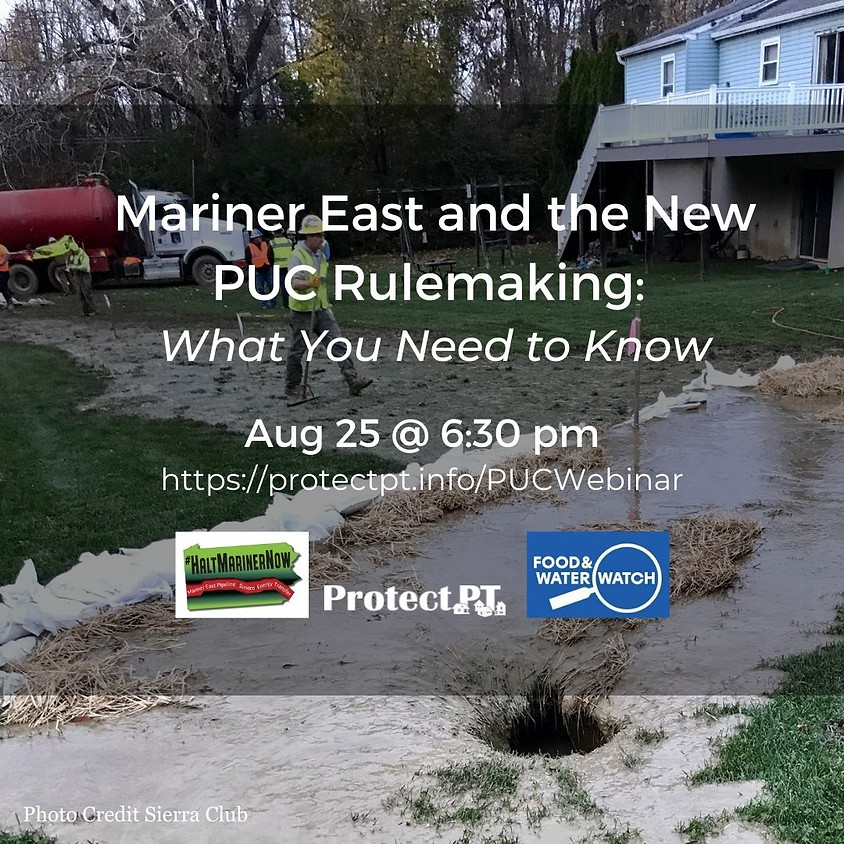 Mariner East and the PUC New Rulemaking: What You Need to Know