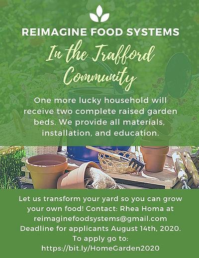 ReImagine Food Systems Home Garden