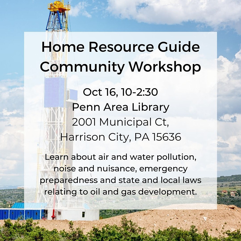 Home Resource Guide Workshop (in person)