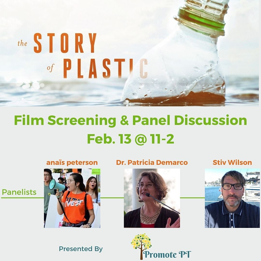 Story of Plastics Film Screening and Panel Discussion