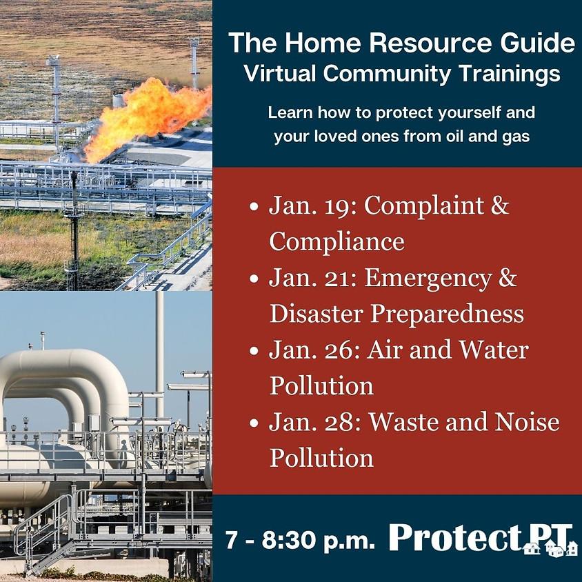 Home Resource Guide Community Training Virtual Series