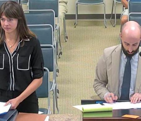 Laura Dagley Testifies to Public Health Concerns at Titan Hearing