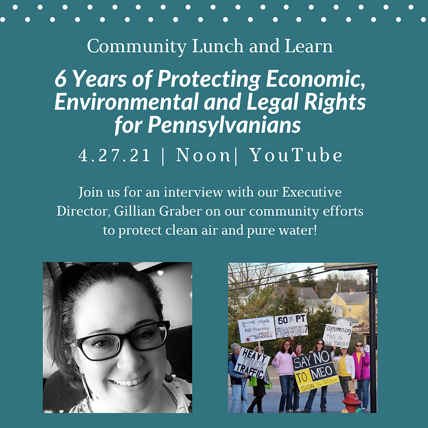 Lunch and Learn: Celebrate 6 Years!