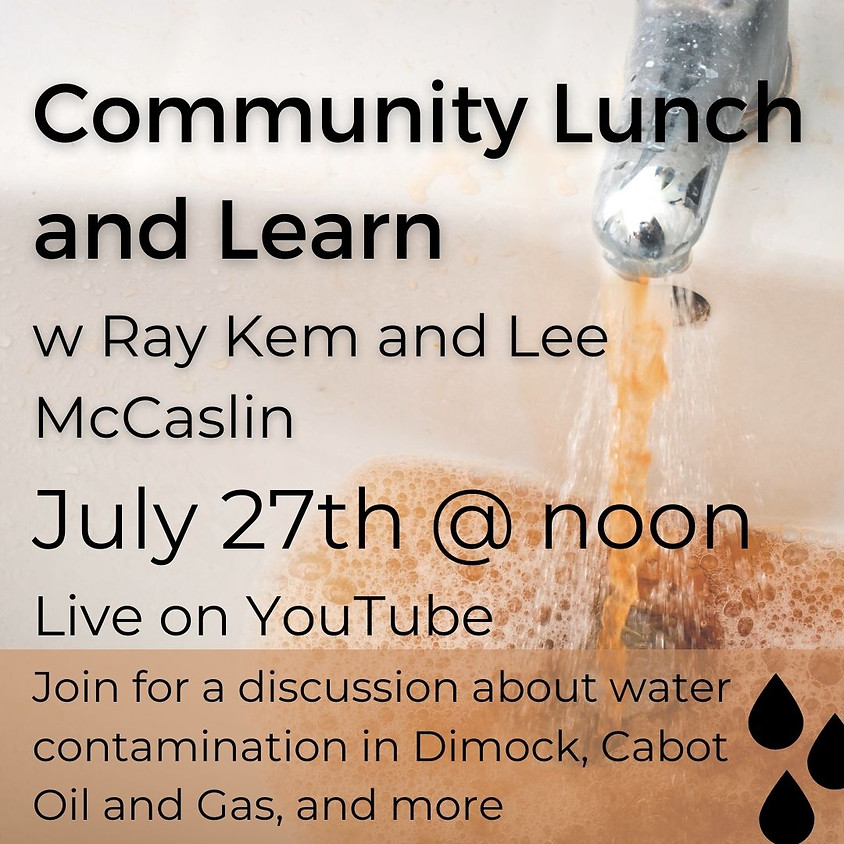 Community Lunch and Learn