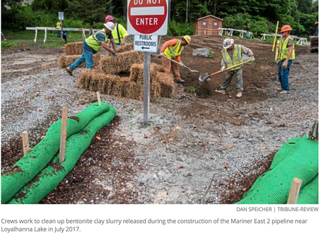 Sewickley Creek spill among those cited in $313K Sunoco Pipeline fine