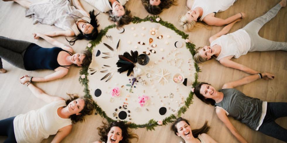 Full Pink Moon Sacred Sisters Circle