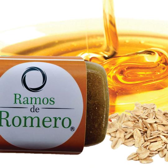 Avena con miel - Aclarante y exfoliante