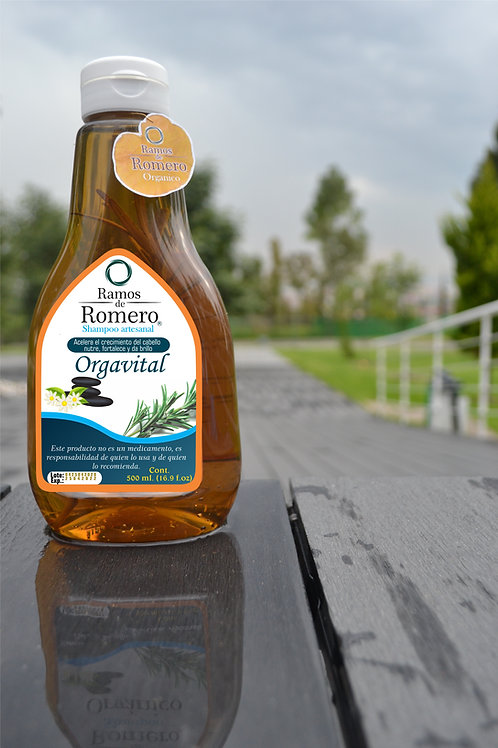 Shampoo Orgavital Ramos de Romero (500 ml)