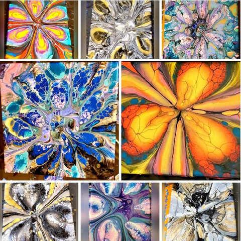 8 Piece Collage