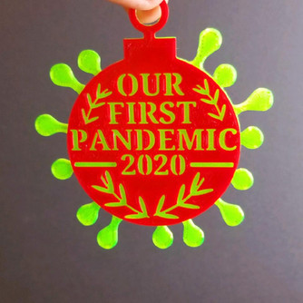 Our First Pandemic Ornament