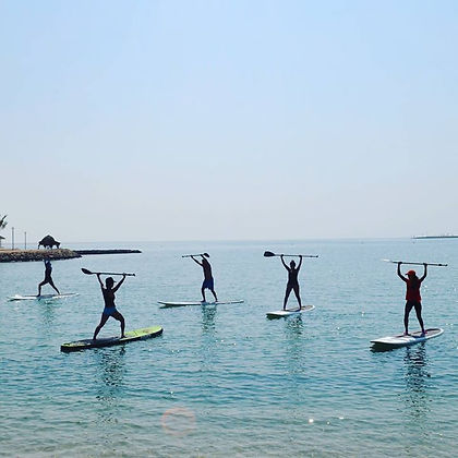 Calling all Adventurous Spirits in Bahrain 🇧🇭..._✨_Stand up paddle yoga a.k.jpg