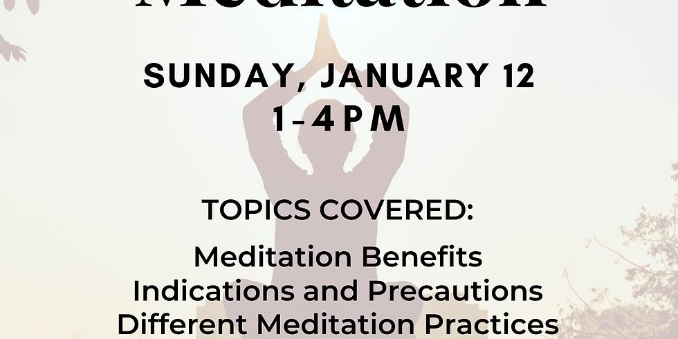 Meditation for Yoga Teachers