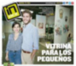 Artículo de Santurce Pop en Índice - Vitrina para los Pequeños. Carla López de Azúa and Fernando Gorrochategui Vigoreaux on the Cover!