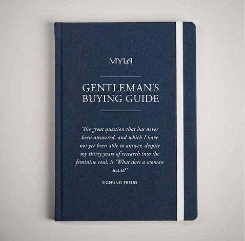 Sample pages, Gentleman's Buying Guide,