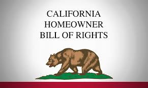 Changes to California's Homeowner Bill of Rights
