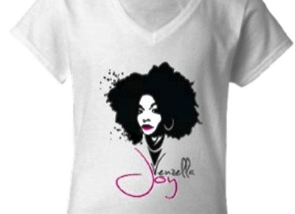 Venzella Joy - T-Shirt - White