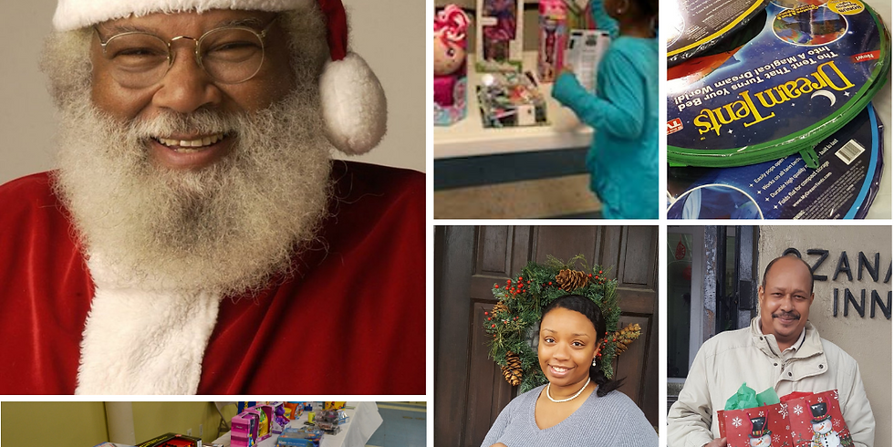 Chocolate Santa Holiday Toy and Gift Drive