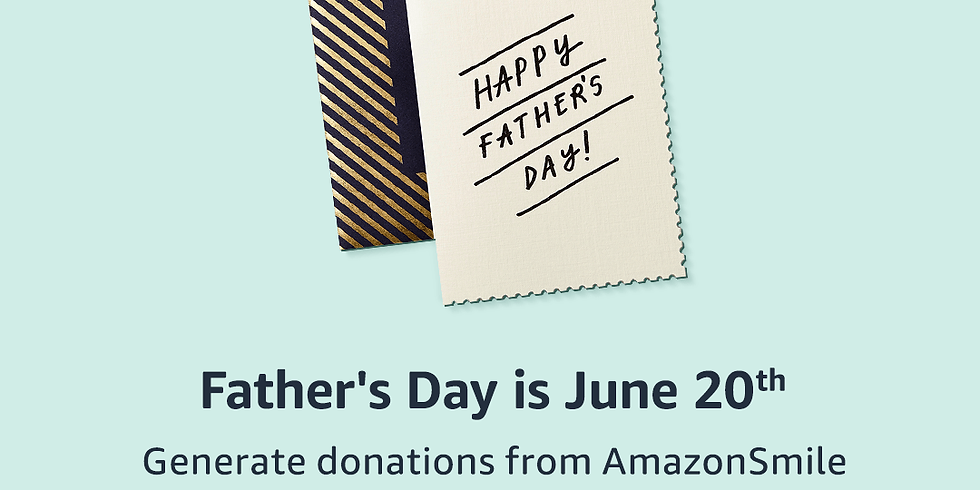 Shop AmazonSmile for Father's Day