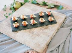 Prosciutto wrapped Figs