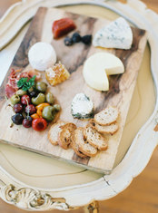 Cheese and Olive Board