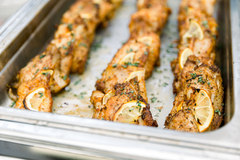 Spice Rubbed Grouper with Lemon and Herbs